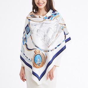 Fashion Scarves For Women Large Size Square Scarfs and Shawls Wraps Hijabs Pashmina Luxury Scarves Female Lady's Muffler Neckerchief Headban