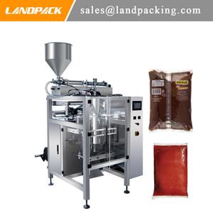 Haute Qualité verticale Ketchup Sauce machine d'emballage Pâte liquide pneumatique Machines d'emballage avec le prix d'usine
