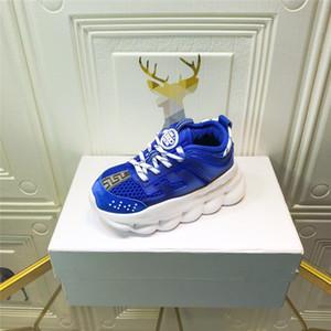 Designer Chaussures Enfants Sport Mesh LÉGER Footwearing Garçons Filles Chaussures de course avec boîte enfants école Porter