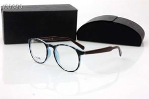 Montura de gafas redondas Qualtiy VPR195 con lentes de demostración 50-20-140 A + gafas importadas de tabla pura importadas, montura de caja completa, precio de OEM