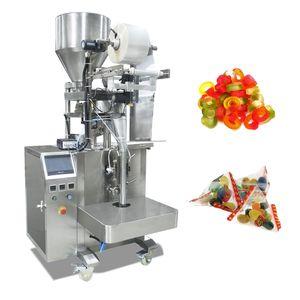 Endüstriyel Otomatik Dik Form Doldurma Seal Makinesi İçin Şeker Tahıl Yumuşak Şeker Üçgen Seal Ambalaj Makinası