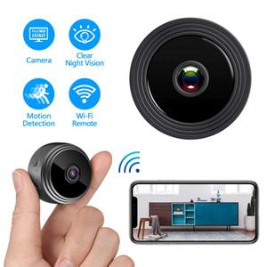 1pcs A9 Wireless Camera WiFi Apparecchiature di sorveglianza di visione notturna mini telecamera di rete senza fili WiFi del CCTV di sicurezza domestica
