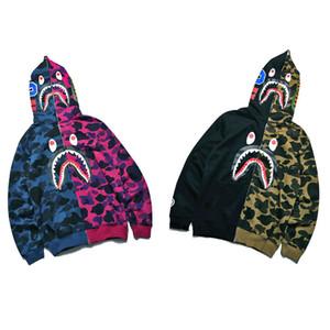 BAPE Hoodies A Bathing Ape Mens diseñador Hoodies hombres mujeres diseñador chaqueta alta calidad Casual sudaderas tamaño M-2XL