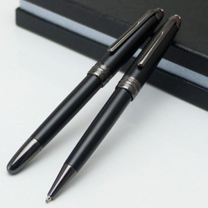 Limited Edition MSK-163 Matte papeterie stylo noir Stylo bille Rollerball fournitures de bureau de l'école avec le numéro XY2006108 cadeau de Noël