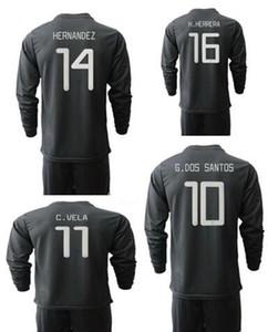 Maillots de soccer à manches longues du Mexique 2019 Camisetas de la Coupe du Mexique avec des shorts, magasin en ligne personnalisé de survêtements de football d'hommes maillot de football porte