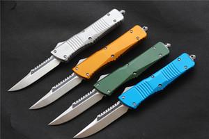 VESPA lame de couteau D2 auto de défense (S / E) Poignée: aluminium, camping en plein air survie outils EDC couteau de cuisine outil, Livraison gratuite