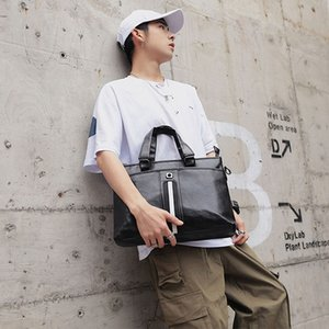 El-Bag Erkek Çanta İş Çantası Bilgisayar Omuz Çantaları Laptop Büyük Kapasiteli Erkek Bolsa satchels İşadamı Çoklu