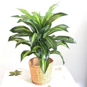 Las plantas artificiales de 70 cm de látex Brasil Bird Wedding Party tallo del árbol de madera falso Inicio Planta verde decoración interior al aire libre