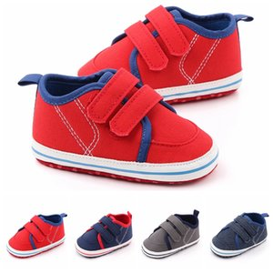 Newborn Prewalker Baby Boys Fashion Sneakers Soft sole Infant Baby Toddler Shoes First Walkers 0-12M