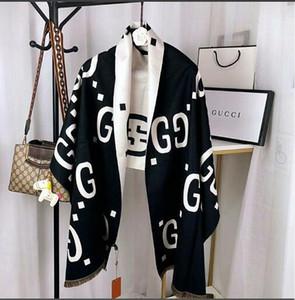 2020 neuer heißen Verkauf Marke Schal-Qualitäts-Silk Marken Designer Schale Mode Blumen Schal-Schals für Frauen Größe 180x70cm