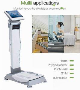 Taşınabilir Vücut Yağ Monitör Bmi Tester BMI Analiz Lcd Ekran Yağ Tespiti Sağlık Kilo Kontrolü azaltın