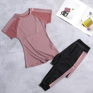 2020 Newest Yoga Set Fitness Clothing Active Wear Gym Clothes Womens Workout Clothing Sets Tracksuit 3 Colors High Quality