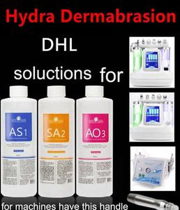 Aqua Peeling Lösung AS1 SA2 AO3 Flaschen / 400 ml Pro Flasche Aqua Gesichts Serum Hydra Gesichts Dermabrasion Für Normale Haut Microdermabrasion