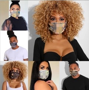 Women Unisex Washable Masks Breathable Butterfly Pattern Face Mask LettersPrinting Sunproof Anti-dust Cycling Sports Outdoor Mouth Masks
