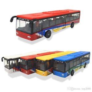 Plastik Abs Model Oyuncaklar Geri vites otobüs Diecast Oyuncak Araçlar Geri otobüsü Yüksek Simülasyon Okul Servisi Çocuk oyuncakları yılbaşı hediyesi çekin