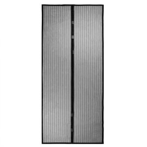 2Pcs set Durable Anti Mosquito Insect Curtains Magnetic Mesh Net Hands Free Automatic Closing Door Screen Kitchen Curtains