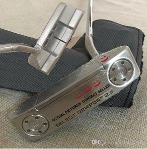 Nouveau Top qualité Newport2.5 Golf Putter poids amovibles + Putter Headcover Real Photos Contacter le vendeur Acheter 2pcs obtenir DHL Livraison