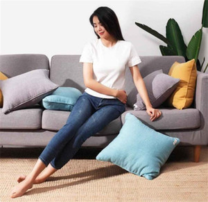 Xiaomi Youpin COMO LIVING French washed linen pillow 45x45cm Linen material 2color Original Brand with free shipping 3005951C3
