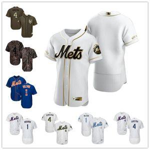 giovani New York Uomini Custommets1 Mookie Wilson 4 LennyDykstra bianco Throwback Authentic oro EditionMLBmaglia