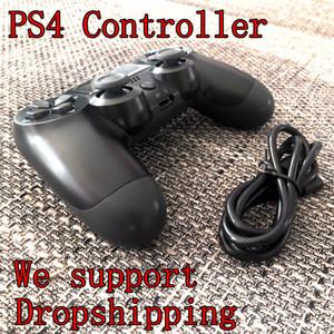 CHOQUE 4 Wireless Controller TOP qualidade Gamepad para Joystick PS4 com pacote de varejo LOGO Game Controller 22 Cores
