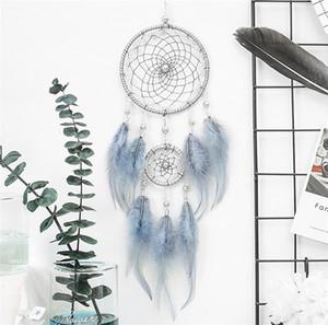 Dreamcatcher mano Dream Catcher netto Hanging Home Auto decorazione decorazione del mestiere regalo Acchiappasogni