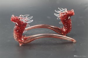 New Dragon Arrival Glass Hand Pipe Hookah Glass Pipes Smoking Tobacco Hand Pipes Spoon Pipe Dab Rigs Glass Bubbler