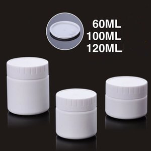 high quality 60ml 100ml 120ml white cream bottle,cosmetic container, pp jar, cosmetic packaging F20172175