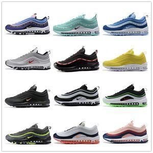 923288-500 homens e mulheres 97s AIR MAX 97 Se Gs Homens e mulheres correndo Sport Shoes 'tem um dia' OG Casual Sneakers 36-46