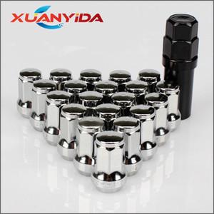 Universal 12mm * 1,5 Lug vis de roue de voiture écrous à six pans creux clé de voiture de course de roue Écrous Jantes Accessoires