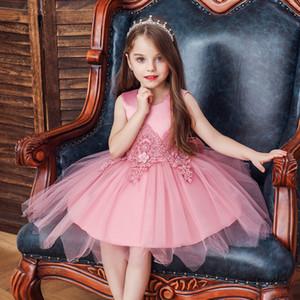 Meninas Vestido De Noite De Casamento Irregular Vestido De Princesa Verão Fofo Malha Saia Liuyi Roupas De Desempenho Das Crianças