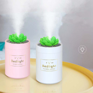 USB Mini Humidifiers Portable Aroma Essential Oil Diffusers Auto Aromatherapy Humidifier Cool Mist Maker for Car Home Office Gifts