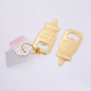 حزب الحسنات هدايا تغذية-شكل زجاجة البيرة الفتاحات الممرض فتاحة زجاجات الطفل الحسنات استحمام للالمطبخ بار EEA1401