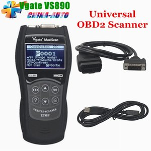 Best Price 2018 Nuovo Vgate VS890 MaxiScan universale strumento diagnostico multilingue Auto Scantool MaxiScan VS 890 OBD2 Scanner