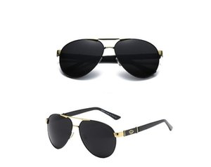 High Quality Fashion Casual Sunglasses Vintage Pilot Eyewear Sun Glasses Band UV400 Men Women Ben Sunglasses With Box