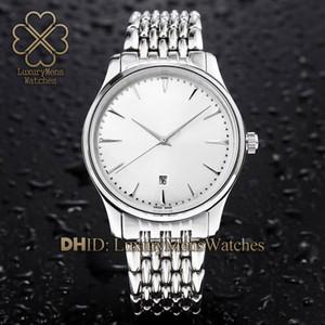 Movimiento del reloj para hombre automático Q1288420 cristal de zafiro de cristal de acero inoxidable 316L Calendario pantalla de 43 mm relojes impermeables RELOGIO de luxo