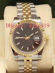 5 색 Topselling 손목 시계 DATEJUST 126234 116233 41mm의 36mm 스테인레스 스틸 축제 두 자동 기계 남성 시계 시계는 톤