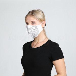 5styles floral impreso enmascarar de manera personalizada a prueba de polvo máscara de algodón transpirable lava máscaras protectoras de diseño suaves al aire libre FFA4082-6