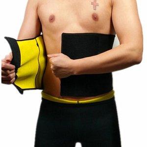 Venta caliente de los hombres de Compresión Body Shaping Cinturones CHENYE Cinturones de los hombres 2018 Moda Fitness Casual Cintura Trainer delgado corsé cinturón