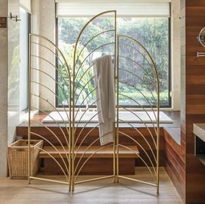 المقسمات الحمام ضوء الحديد الفاخرة الملابس شاشة قابلة للطي وقبعة رف غرفة نوم وغرفة معيشة لطي تقسيم الشاشة تقسيم ينحدر