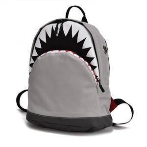 Niños Modelo 3d Bolsas de tiburones Mochilas para bebés Mochilas escolares para niños de kindergarten para niños y niñas Mochila de lona para niños Mochila J190614