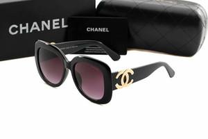 Alta qualidade de luxo Mens Marca Designer óculos de sol redondos Para Homens Mulheres PROIBIÇÕES UV Protection óculos de sol