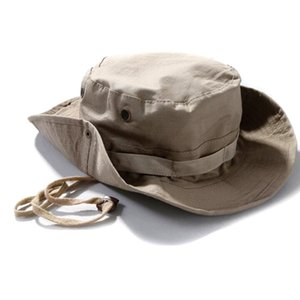 Military Army Tactical Bonnie Hat Hunting Round-Brimmed Sun Camo Bucket Hats Outdoor Camping Cap