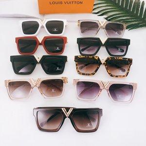 Fashion Round Sunglasses Eyewear Sun Glasses Brand Black Metal Frame Dark Glass Lenses For Mens Womens Better Brown Cases
