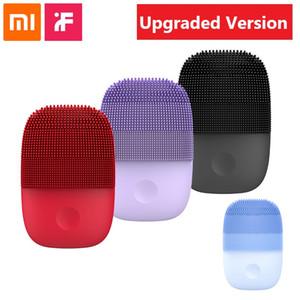 Xiaomi inface elektrische Gesichtsreinigung Bürstemassager-Ultraschallhaut-Wäscher Instrument weiche Silikon-Gesichtsreinigungsgeräte