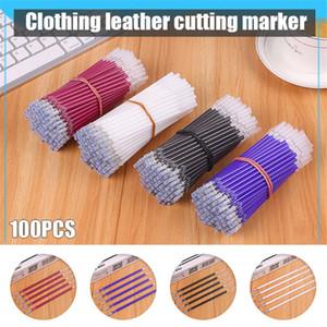 100pcs Heat Erase Pen Refills High Temperature Disappearance Pen Refills Leather Garment Dash Marker KQS8