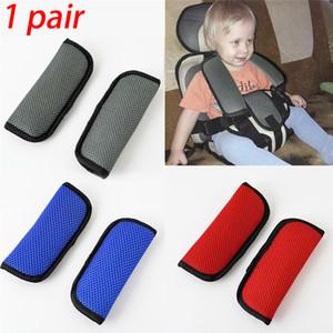 1 paire sécurité auto pour enfants ceinture de sécurité couverture de remplacement décoratif Styling utile pour les poussette bébé Sangle d'épaule Soft Pad Protect