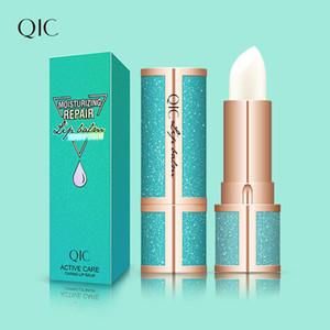 Qic Marca la estrella del estilo del lápiz labial Bálsamo labial incoloro linda dulce bálsamo hidratante de frutas sabor de labios maquillaje Lip Smacker Dropshipping L4701