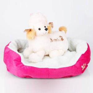 코튼 애완 동물 따뜻한 워털루 패드 M 사이즈 개 침대