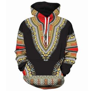 Мужчины Женщины Толстовка Толстовка Африканский народный обычай 3D печать Толстовка с капюшоном Мужчина хип-хоп Streetwear Hoodie Tracksuit Мужских 5XL