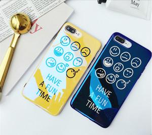 Coquille de marée smiley Blu-ray iPhone8 coque anti-goutte de téléphone portable iPhoneX